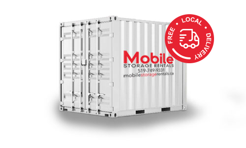 10ft Mobile Storage Container  sc 1 th 174 & Moving u0026 Storage Containers Storage Units in Kitchener Waterloo
