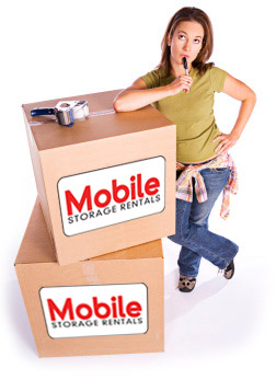 image of a lady with cardboard boxes for moving
