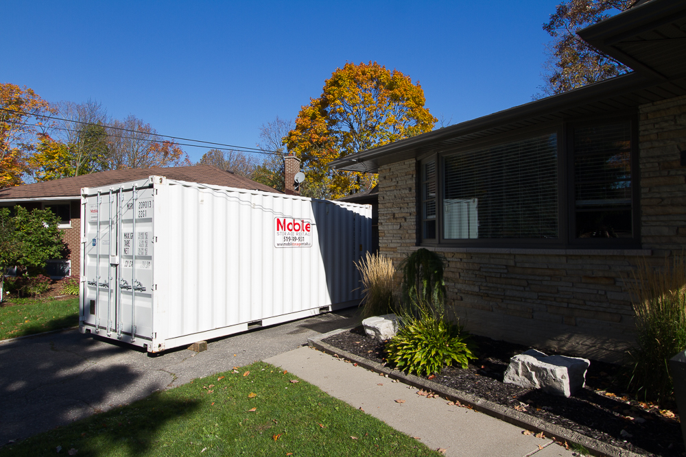 Portable Storage Pod Containers In Kitchener Waterloo Cambridge Ontario