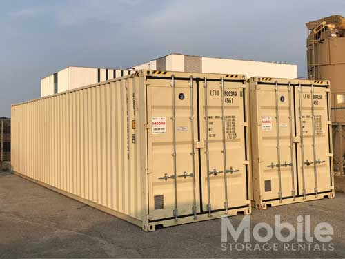 New 40' Shipping Containers