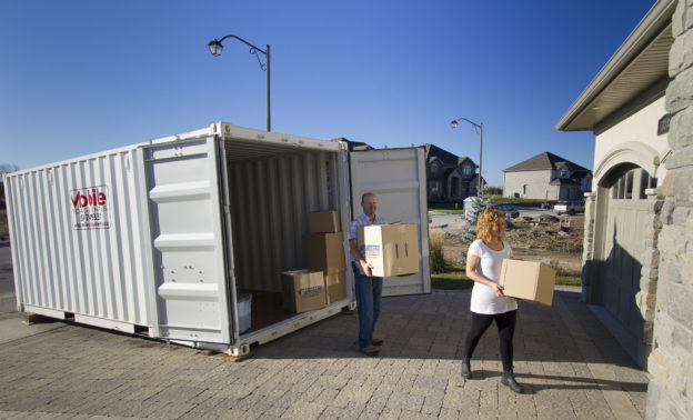 Storage Shipping Container Pod Packing