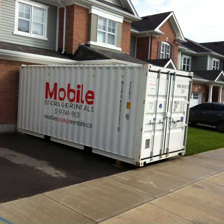 Storage units for moving
