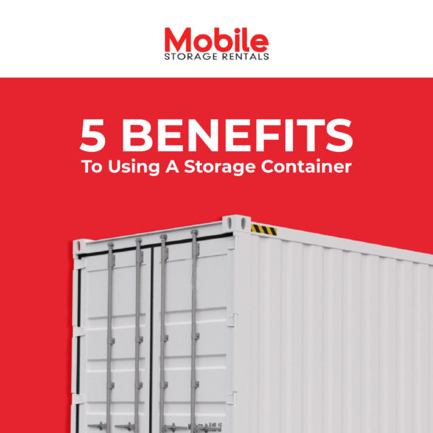 Benefits of shipping containers